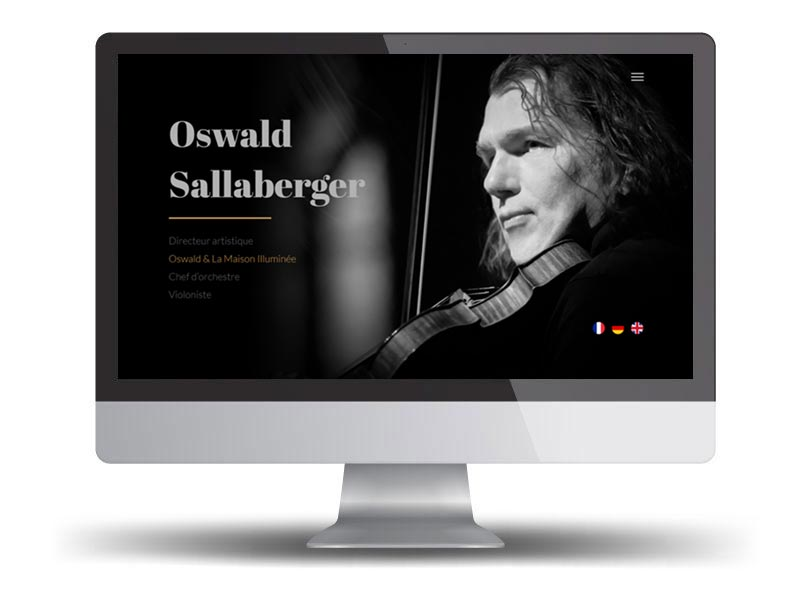 site officiel oswald sallaberger